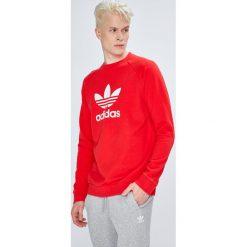 Adidas Originals - Bluza. Szare bluzy męskie adidas Originals, z nadrukiem, z bawełny. Za 249.90 zł.