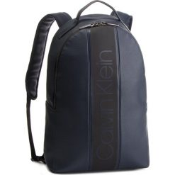 Plecak CALVIN KLEIN - Strike Round Backpack K50K504279 068. Niebieskie plecaki damskie Calvin Klein, ze skóry ekologicznej. Za 599.00 zł.
