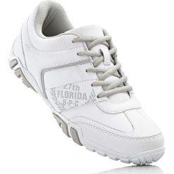 Buty sznurowane bonprix biało-szary. Buty sportowe męskie marki B'TWIN. Za 74.99 zł.