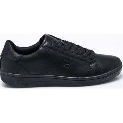 Fila - Buty Crosscourt 2 Low. Czarne buty sportowe męskie Fila, z gumy. W wyprzedaży za 179.90 zł.