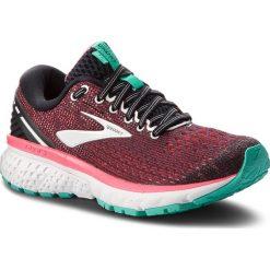 Buty BROOKS - Ghost 11 120277 1B 017 Black/Pink/Aqua. Czarne obuwie sportowe damskie Brooks, z materiału. Za 539.00 zł.