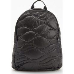 Pikowany plecak - Czarny. Plecaki damskie marki WED'ZE. W wyprzedaży za 59.99 zł.