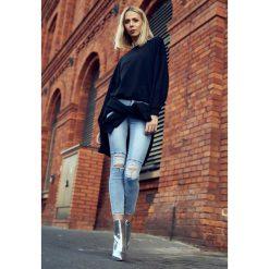 Niebieskie Jeansy Gold Flicker. Niebieskie jeansy damskie Born2be. Za 79.99 zł.