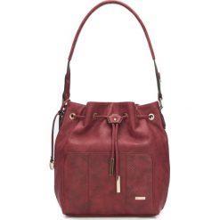 Torebka damska 87-4Y-763-2. Brązowe torebki do ręki damskie Wittchen, z motywem zwierzęcym. Za 279.00 zł.