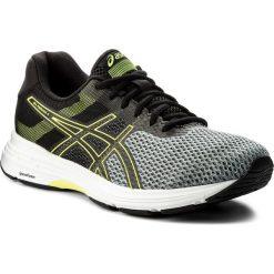 Buty ASICS - Gel-Phoenix 9 T822N Stone Grey/Black/Safety Yellow 1190. Czarne buty sportowe męskie Asics, z gumy. W wyprzedaży za 279.00 zł.