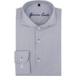 Koszula IGNAZIO slim 15-11-21-K. Szare koszule męskie Giacomo Conti, w kratkę, z długim rękawem. Za 169.00 zł.