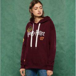 Bluza z kapturem Harry Potter - Bordowy. Czerwone bluzy damskie Sinsay. Za 79.99 zł.