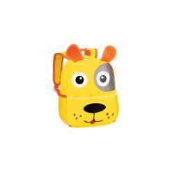 Plecak przedszkolny pies żółty 920548. Żółte torby i plecaki dziecięce Easy, z materiału. Za 49.79 zł.