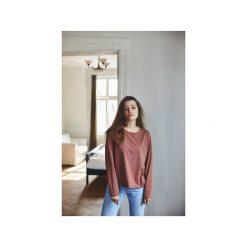 FLORENCE KONIAK bluzka. Brązowe bluzki damskie Gau great as you, z bawełny, z długim rękawem. Za 179.00 zł.