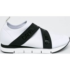 Calvin Klein Jeans - Buty. Szare obuwie sportowe damskie Calvin Klein Jeans, z jeansu. Za 449.90 zł.