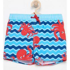 Szorty kąpielowe - Niebieski. Kąpielówki dla chłopców Reserved. W wyprzedaży za 14.99 zł.