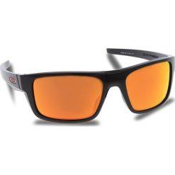 Okulary przeciwsłoneczne OAKLEY - Drop Point OO9367-1660 Polished Black/Prizm Ruby. Czarne okulary przeciwsłoneczne męskie Oakley, z tworzywa sztucznego. W wyprzedaży za 509.00 zł.