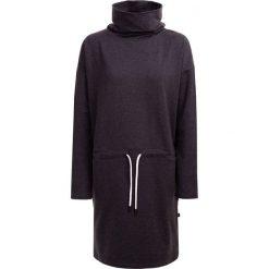 Sukienka damska SUDD601 - ciemny szary melanż - Outhorn. Szare sukienki damskie Outhorn, melanż, z dzianiny. W wyprzedaży za 69.99 zł.