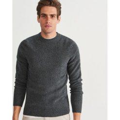 Sweter - Szary. Szare swetry przez głowę męskie Reserved. Za 119.99 zł.