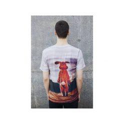 T-shirt Another World. Szare t-shirty męskie Bahabay, z nadrukiem, z bawełny. Za 83.30 zł.