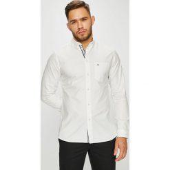 Tommy Jeans - Koszula. Szare koszule męskie Tommy Jeans, z bawełny, button down, z długim rękawem. Za 299.90 zł.