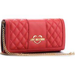 Torebka LOVE MOSCHINO - JC5503PP16LA0500 Rosso. Czerwone torebki do ręki damskie Love Moschino, ze skóry ekologicznej. Za 569.00 zł.
