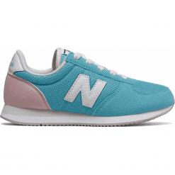 New Balance KL220BFY. Niebieskie buty sportowe chłopięce New Balance, z materiału. W wyprzedaży za 169.99 zł.