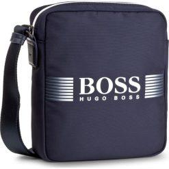 Saszetka BOSS - Pixel D NS Zip 50379395 431. Niebieskie saszetki męskie Boss, z materiału, młodzieżowe. W wyprzedaży za 399.00 zł.