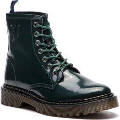 Trapery TRUSSARDI JEANS - 79A00276 G215. Zielone śniegowce i trapery damskie TRUSSARDI JEANS, z jeansu. Za 709.00 zł.