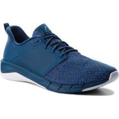 Buty Reebok - Print Run 3.0 CN4909 Blue/Blue Slate/White. Niebieskie buty sportowe męskie Reebok, z materiału. W wyprzedaży za 229.00 zł.