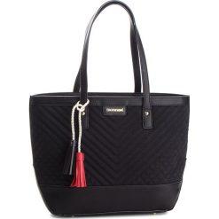 Torebka MONNARI - BAG9220-020 Black. Czarne torebki do ręki damskie Monnari, z materiału. W wyprzedaży za 199.00 zł.