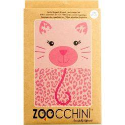 Zoocchini Bielizna Dziewczęca Leopard 5-6. Różowa bielizna dla dziewczynek Zoocchini. Za 27.32 zł.