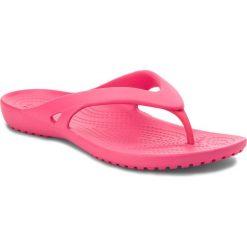 Japonki CROCS - Kadee II Flip W 202492 Paradise Pink. Czerwone klapki damskie Crocs, z materiału. Za 89.00 zł.