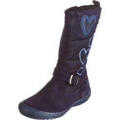 Kozaki zimowe w kolorze granatowym. Buty zimowe dziewczęce Zimowe obuwie dla dzieci. W wyprzedaży za 175.95 zł.
