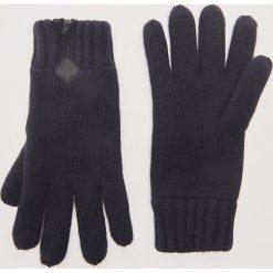 Rękawiczki z zamkiem - Granatowy. Niebieskie rękawiczki męskie House. Za 39.99 zł.