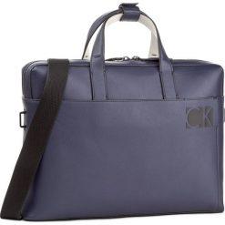 Torba na laptopa CALVIN KLEIN - Hi-Profile Slim Laptop K50K503443 426. Niebieskie torby na laptopa damskie Calvin Klein, ze skóry ekologicznej. W wyprzedaży za 459.00 zł.