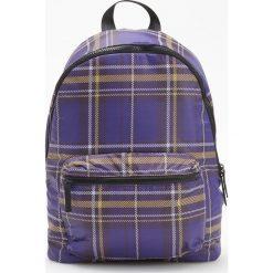 Plecak w kratę - Fioletowy. Plecaki damskie marki QUECHUA. W wyprzedaży za 49.99 zł.