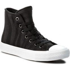 Trampki CONVERSE - Ctas II Hi 155493C Black/White/Gum. Trampki męskie Converse, z gumy. W wyprzedaży za 209.00 zł.