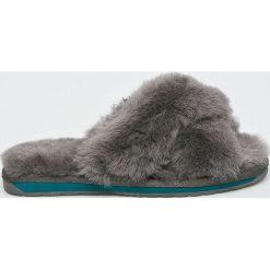 Emu Australia - Klapki Mayberry 2.0. Szare kapcie damskie Emu Australia, z gumy. Za 299.90 zł.
