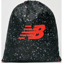 New Balance - Plecak. Czarne plecaki damskie New Balance, z poliesteru. Za 49.90 zł.