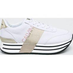 Calvin Klein Jeans - Buty. Szare obuwie sportowe damskie Calvin Klein Jeans, z gumy. Za 629.90 zł.