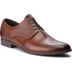 Półbuty LASOCKI FOR MEN - TA-LL38 Brown. Brązowe eleganckie półbuty Lasocki For Men, z materiału. Za 219.99 zł.