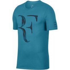 Nike Męski T-Shirt Rf M Nk Tee Neo Turq Black M. Czarne t-shirty męskie Nike. Za 155.00 zł.