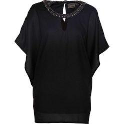 Tunika bonprix czarny. Czarne tuniki damskie bonprix, z okrągłym kołnierzem. Za 119.99 zł.