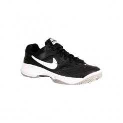 Buty tenisowe Nike Court Lite męskie. Czarne buty sportowe męskie Nike. W wyprzedaży za 149.99 zł.