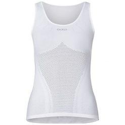 Odlo Koszulka damska Singlet Breathe biała r. S (158021). Bluzki damskie Odlo. Za 88.40 zł.