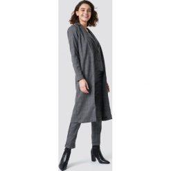 Rut&Circle Kurtka w ciemną kratkę - Grey. Szare kurtki damskie Rut&Circle, w kratkę. Za 283.95 zł.
