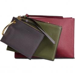 Torebka COCCINELLE - CV1 Envelopes E5 CV1 19 A5 07  Grape/Caper/Fum 772. Czerwone torebki do ręki damskie Coccinelle, ze skóry. Za 649.90 zł.