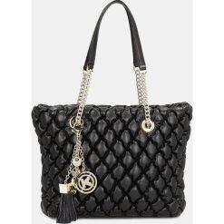 Czarna torebka do ręki damska. Czarne torebki do ręki damskie Kazar, ze skóry. Za 1,099.00 zł.