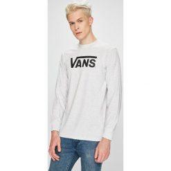 Vans - Longsleeve. Szare bluzki z długim rękawem męskie Vans, z nadrukiem, z bawełny, z okrągłym kołnierzem. Za 139.90 zł.