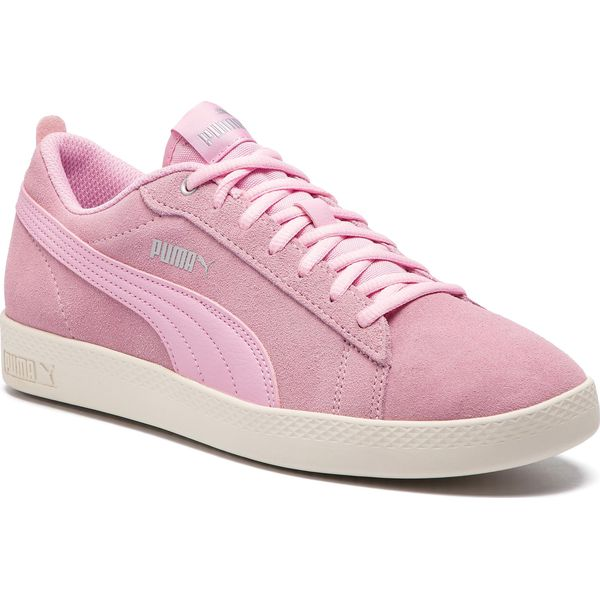 Sneakersy PUMA Smash Wns V2 Sd 365313 15 Pale PinkSilverW White