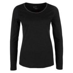 S.Oliver T-Shirt Damski 40 Czarny. Czarne t-shirty damskie S.Oliver. Za 59.90 zł.