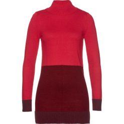 Sweter bonprix czerwono-bordowo-ciemny jeżynowy. Swetry damskie marki bonprix. Za 89.99 zł.