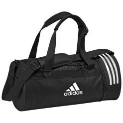 Adidas Adidas Torba Convertible 3 Stripes Duffel Bag Small Black. Torby podróżne damskie Adidas. Za 128.17 zł.