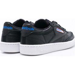 Reebok Classic - Buty Club Classic. Czarne buty sportowe męskie Reebok Classic, z materiału. W wyprzedaży za 249.90 zł.